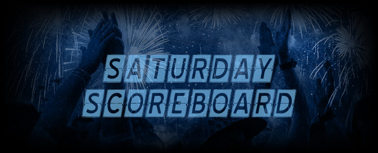 Saturday Scoreboard featured image - blue