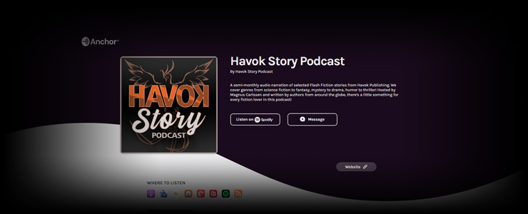 Havok Story Podcast featured image