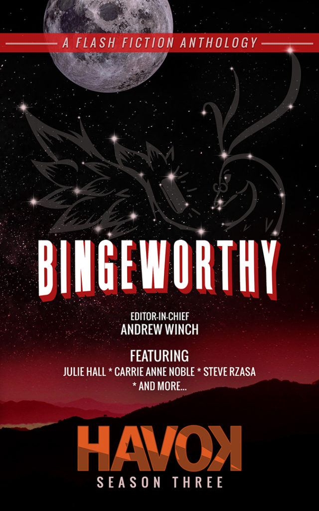 Bingeworthy anthology cover - bigger size